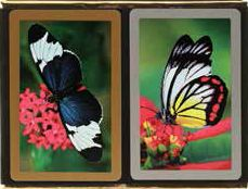Butterfly Bridge Playing Cards