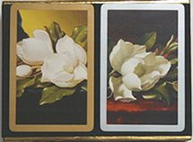 congress magnolia double deck playing cards